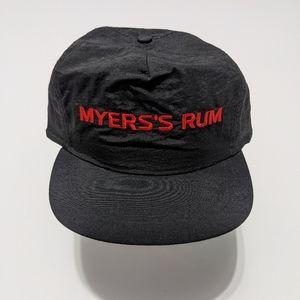 Vintage Myers's Rum 80s Snapback Hat